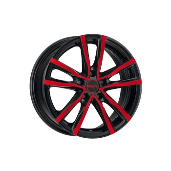MAK Milano Black and Red 18